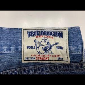 Men's World Tour True Religion Straight Jeans